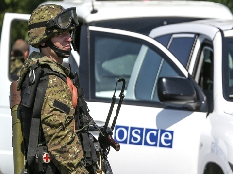 Monitors have no access to almost half of occupied Donbas - OSCE