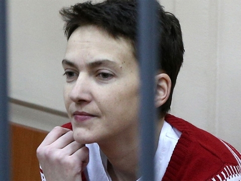 Savchenko goes on trial in Russia