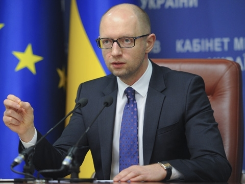 PM Yatsenyuk visits Latvia today