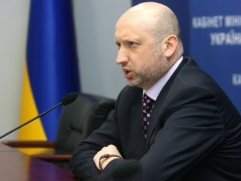 Turchynov: No blockade of occupied areas in Donetsk, Luhansk regions without President's approval