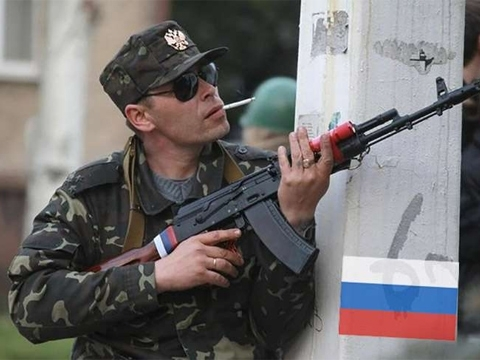 Five Ukrainian soldiers wounded in east Ukraine in past day
