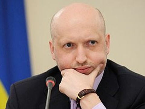 Turchynov: Visa regime with Russia should be introduced as soon as possible