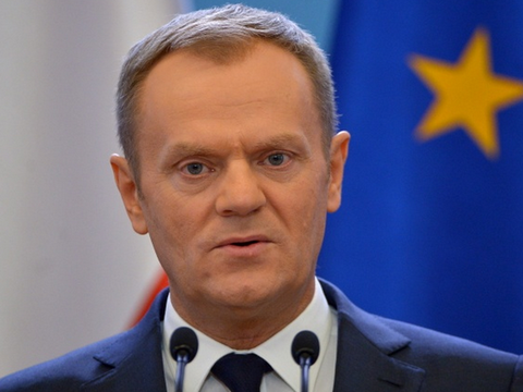 Tusk thanks Ukrainians for their  European loyalty