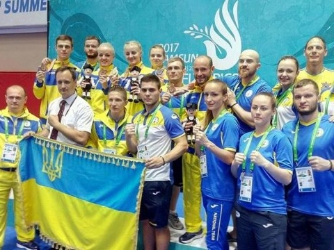 krainian National Deaflympic team shows fantastic results