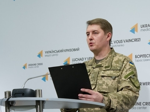 No losses among Ukrainian military in Donbas in past 24 hours