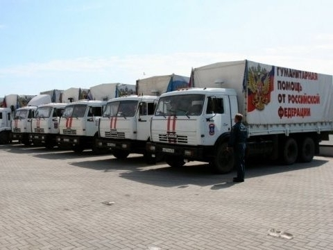 Another shipment of humanitarian aid to Donbas delivered from Russia