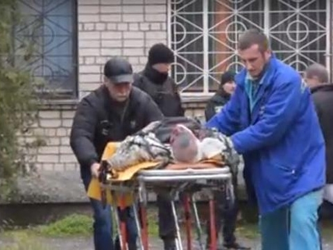 Man blows himself up in Nikopol court