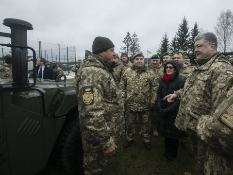 "Ukrainian military will receive 40 medical vehicles ""Hummer"""