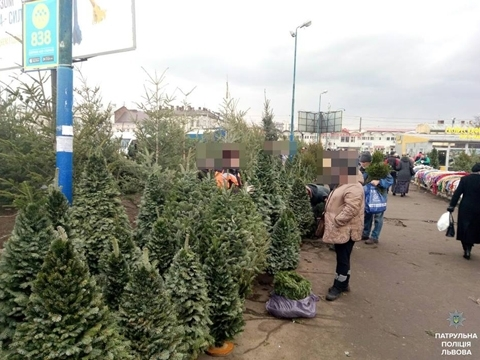 "Operation ""Christmas tree""continues in Lviv"