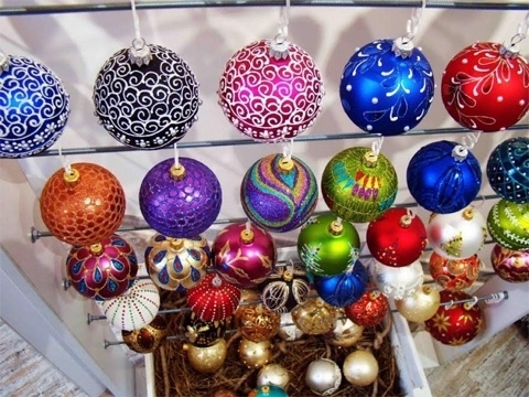 Ukrainian Christmas tree decorations exported in 28 countries