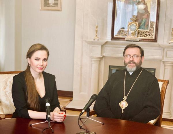 Глава УГКЦ Шевчук про літургію в соборі Святої Софії: ми не зрозуміли, чому це може спричинити якусь напругу